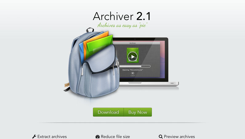 Archiver Website